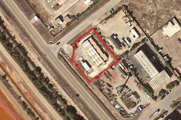 Immagine n1 - Planimetria - Vista aerea - Asta 10007