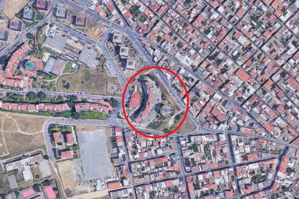 Immagine n3 - Planimetria - Vista aerea - Asta 10011