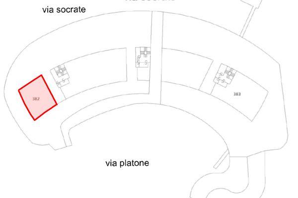 Immagine n1 - Planimetria - Piano terra - Asta 10011