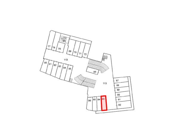 Immagine n1 - Planimetria - Piano secondo interrato - Asta 10024