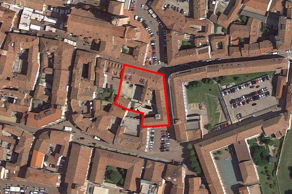 Immagine n1 - Planimetria - Vista aerea - Asta 10025