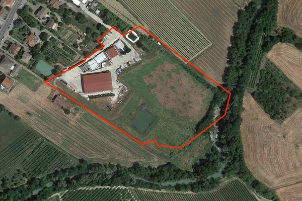 Immagine n1 - Planimetria - Vista aerea - Asta 10055