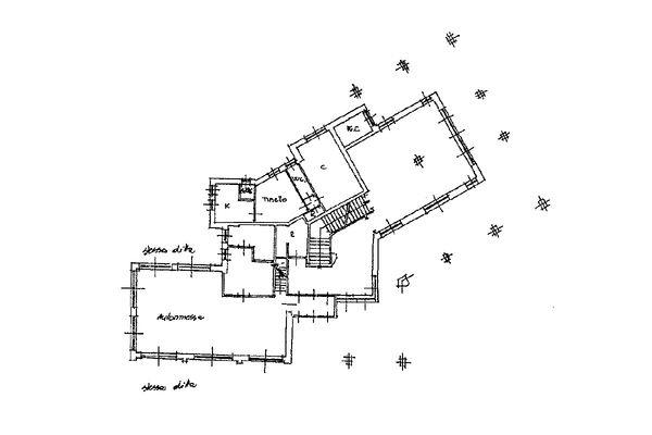 Immagine n1 - Planimetria - Piano terra - Asta 10059