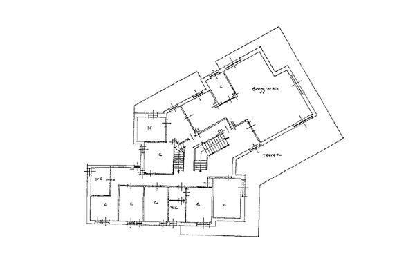 Immagine n2 - Planimetria - Piano primo - Asta 10059