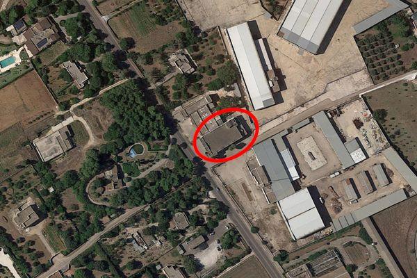 Immagine n1 - Planimetria - Vista aerea - Asta 10066