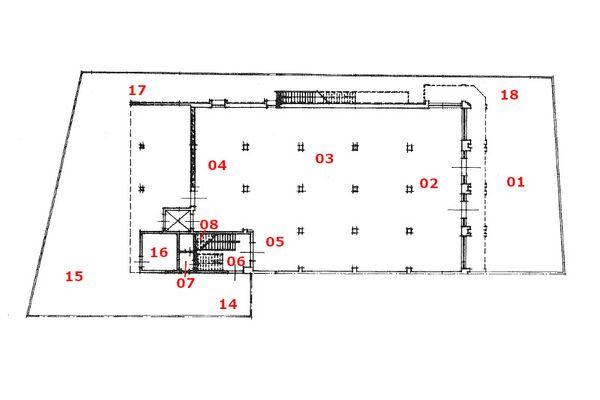 Immagine n1 - Planimetria - Piano terra - Asta 10066