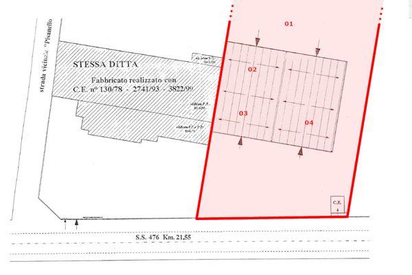 Immagine n1 - Planimetria - Piano terra - Asta 10068