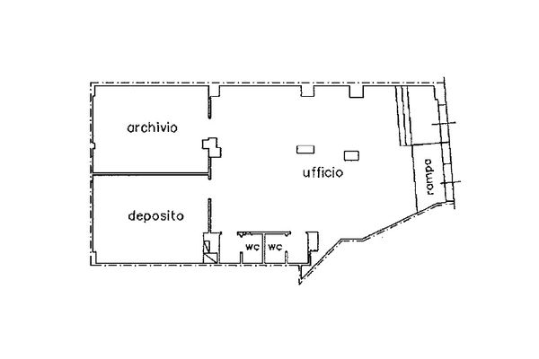 Immagine n1 - Planimetry - Ground floor - Asta 10069