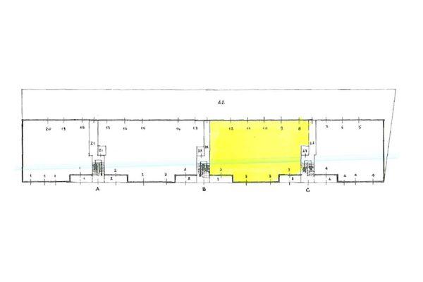 Immagine n1 - Planimetria - Piano terra - Asta 10081