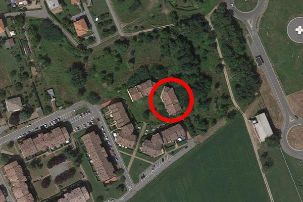 Immagine n0 - Planimetria - Vista aerea - Asta 10126