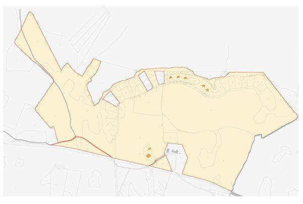 Immagine n1 - Planimetria - Estratto di mappa - Asta 10131