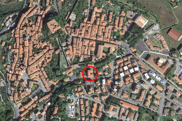 Immagine n0 - Planimetria - Vista aerea - Asta 10279