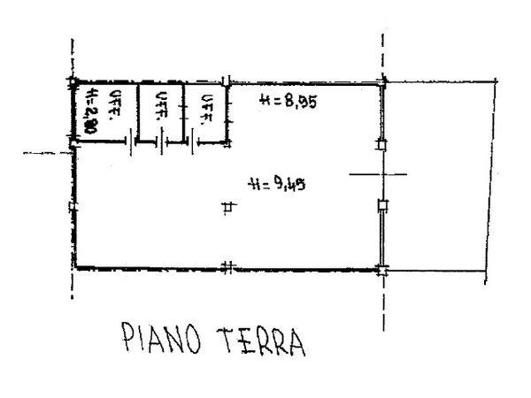 Immagine n1 - Planimetria - Piano terra - Asta 1031
