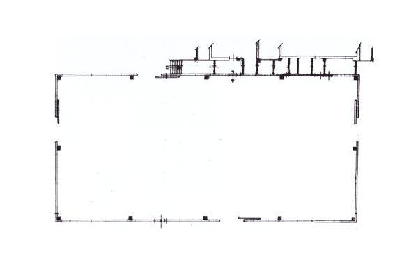 Immagine n2 - Planimetria - Capannone - Asta 10329