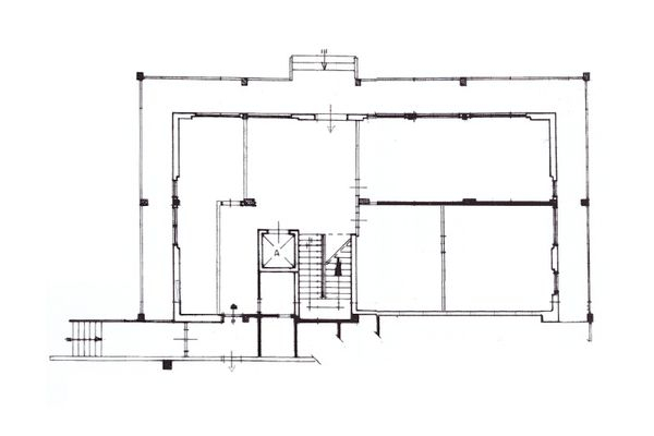 Immagine n3 - Planimetria - Piano terra uffici - Asta 10329