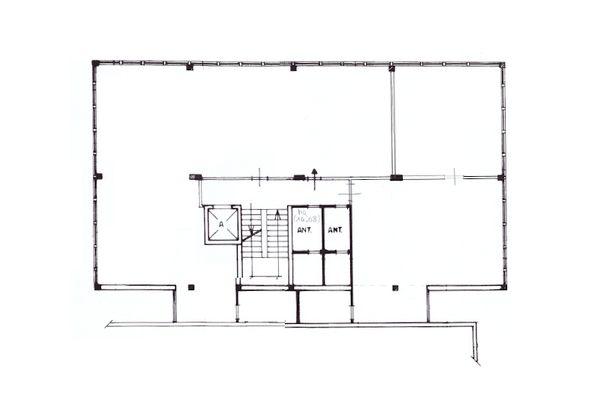 Immagine n4 - Planimetria - Piano primo uffici - Asta 10329