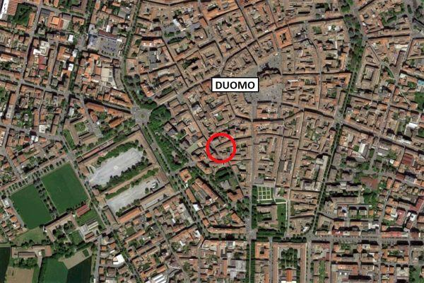 Immagine n0 - Planimetria - Vista aerea - Asta 10345