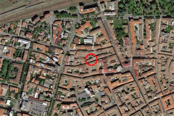 Immagine n0 - Planimetria - Vista aerea - Asta 10346