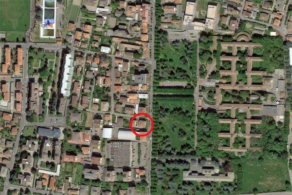 Immagine n0 - Planimetria - Vista aerea - Asta 10347