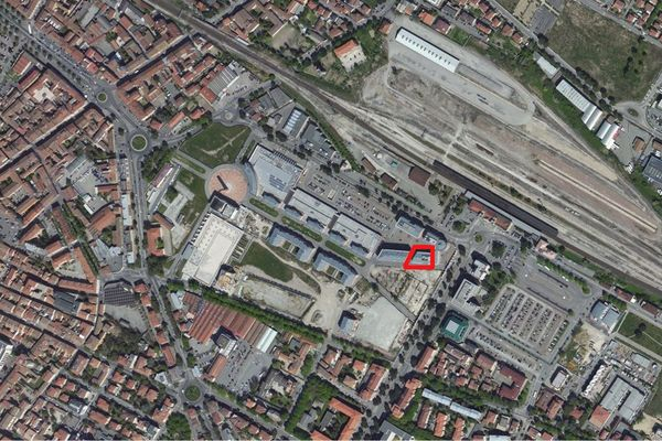 Immagine n2 - Planimetria - Vista aerea - Asta 1037