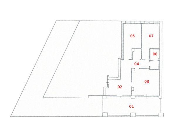 Immagine n6 - Planimetria - Piano terra - Asta 1037