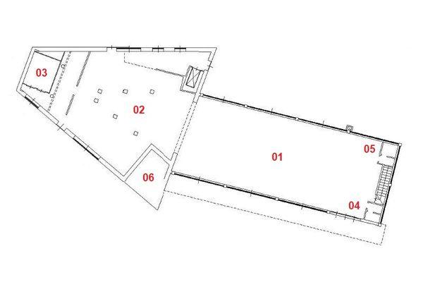 Immagine n1 - Planimetria - Piano terra - Asta 10370