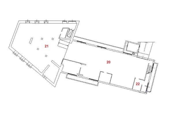 Immagine n4 - Planimetria - Piano seminterrato - Asta 10370