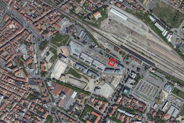 Immagine n1 - Planimetria - Vista aerea - Asta 1039