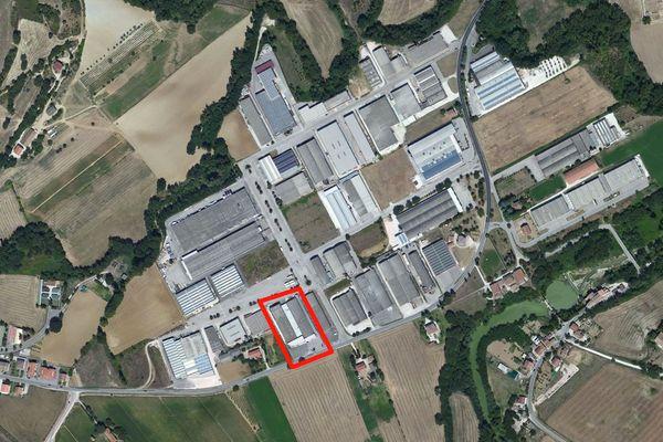 Immagine n0 - Planimetria - Vista aerea - Asta 1042