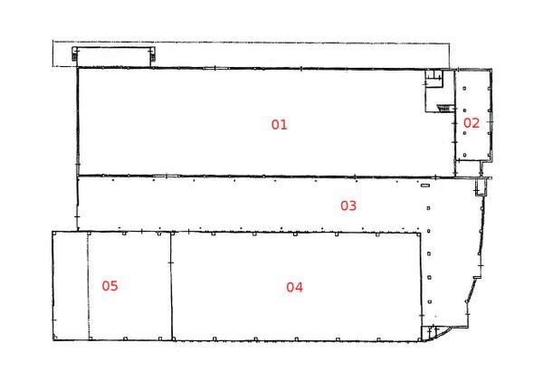 Immagine n4 - Planimetria - Piano terra - Asta 1042