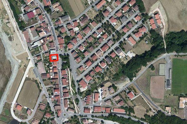 Immagine n0 - Planimetria - Vista aerea - Asta 1043