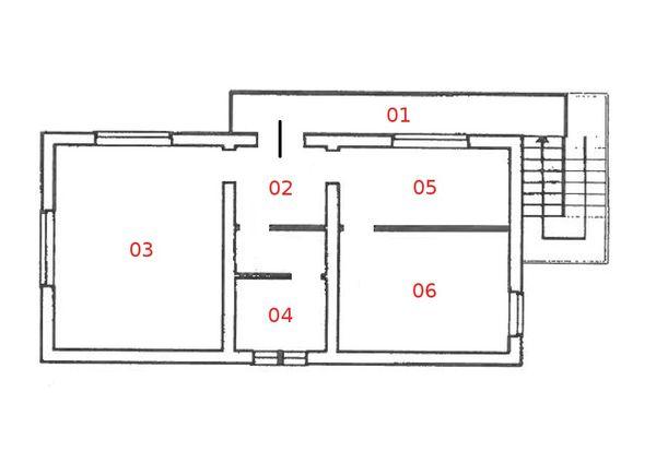 Immagine n5 - Planimetria - Piano primo - Asta 1043