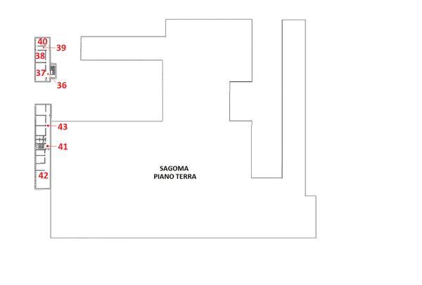 Immagine n0 - Planimetria - Piano primo - Asta 10482