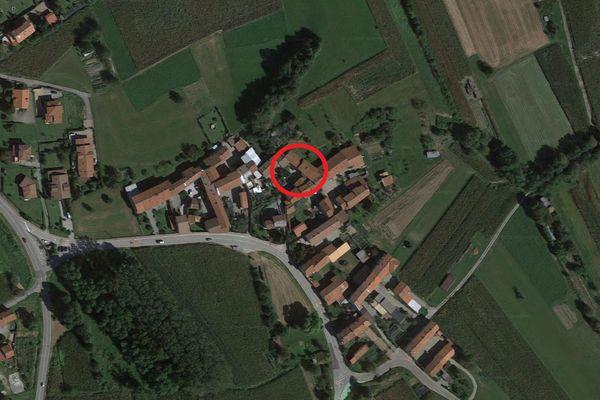 Immagine n0 - Planimetria - Vista aerea - Asta 10486