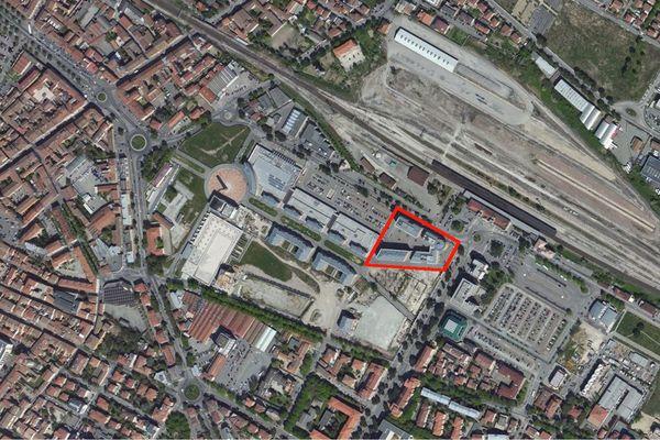 Immagine n0 - Planimetria - Vista aerea - Asta 1050