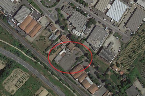 Immagine n0 - Planimetria - Vista aerea - Asta 10509