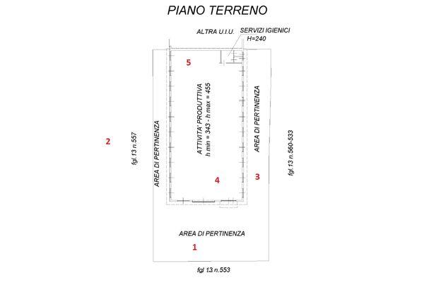 Immagine n1 - Planimetry - Ground floor - Asta 10512