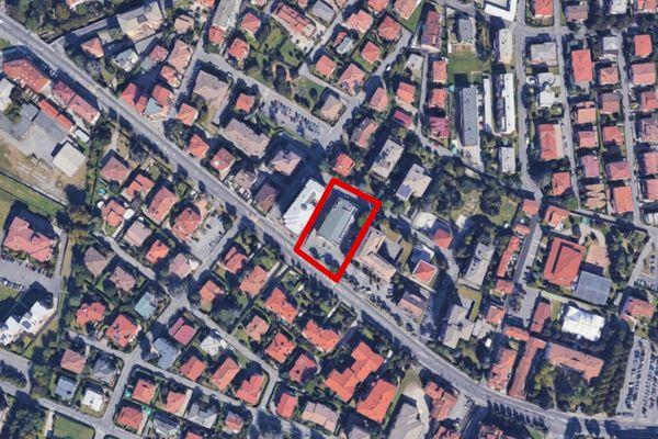 Immagine n1 - Planimetria - Vista aerea - Asta 10514