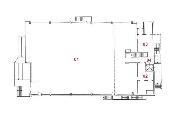 Immagine n1 - Planimetria - Piano terra - Asta 10514
