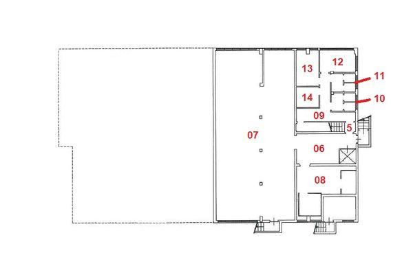 Immagine n2 - Planimetria - Piano interrato - Asta 10514