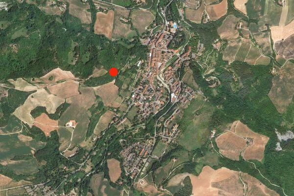 Immagine n0 - Planimetria - Vista aerea - Asta 1052