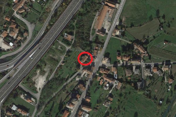 Immagine n0 - Planimetria - Vista aerea - Asta 10583