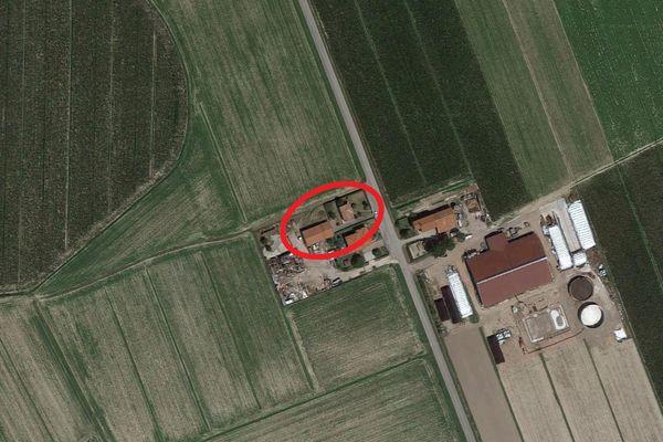 Immagine n0 - Planimetria - Vista aerea - Asta 10588