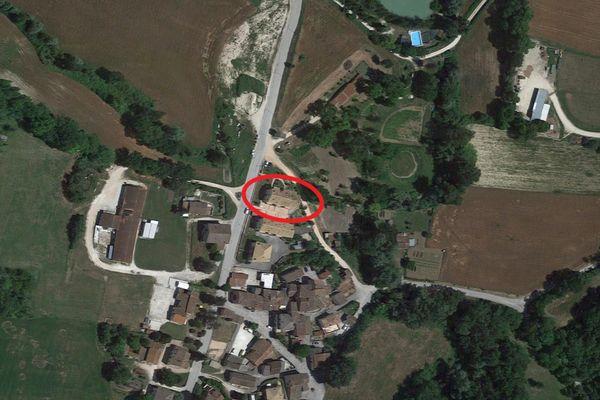 Immagine n0 - Planimetria - Vista aerea - Asta 10675