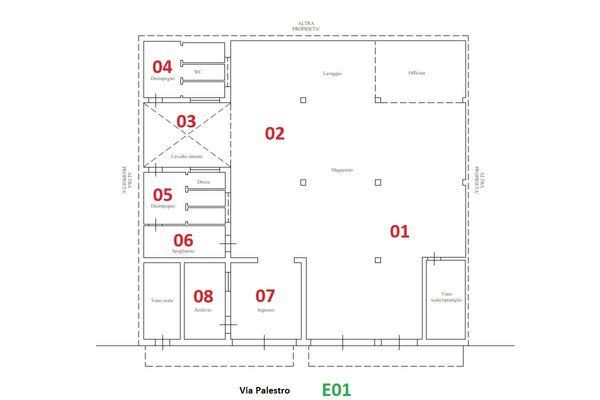 Immagine n0 - Planimetria - Piano terra - Asta 10677