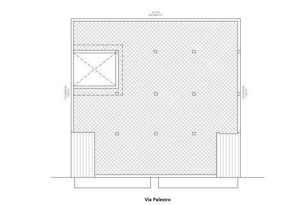 Immagine n2 - Planimetria - Piano copertura - Asta 10677