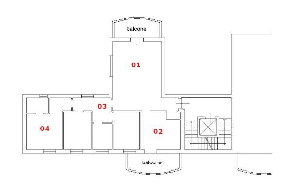 Immagine n1 - Planimetria - Piano secondo - Asta 10726