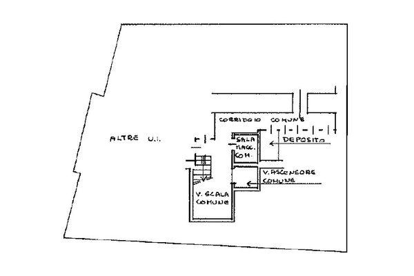 Immagine n1 - Planimetria - Piano interrato - Asta 10817