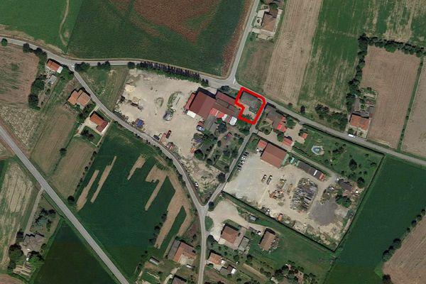 Immagine n0 - Planimetria - Vista aerea - Asta 10860