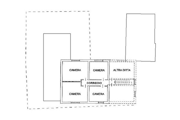 Immagine n2 - Planimetria - Piano primo - Asta 10860